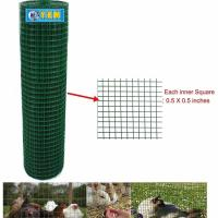 Picture of YKM PVC Coated Welded Wire Mesh Fence, Green