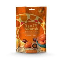 Picture of Tamrah Orange Chocolates in Zipper Bag, 100 g, Carton of 24 Pcs