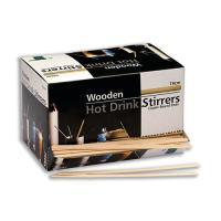Picture of Al Bayader Wooden Hot Drink Stirrers, 19cm - Carton Of 10 Boxes