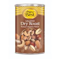 Picture of Best Salted Dry Roast Can, 450g, Carton of 12 Pcs