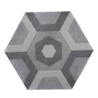 Picture of Al Seeb Ceramic 30x34.7cm Floor Tiles, 23H00144, Dark Grey - Carton of 11