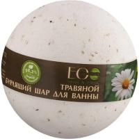 Picture of Organic Calming Bath Bomb with Chamomile and Basil, 120g