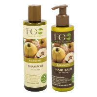 Picture of Organic Balancing Shampoo and Conditioner Set for Oily Hair, 500g