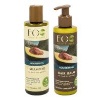 Picture of Organic Nourishing Shampoo and Conditioner Set, 500g