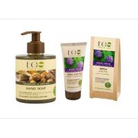 Picture of Organic Hand Soap and Hand Cream Set for Anti Age, 135g