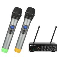 Picture of Fifine K036 UHF Dual Channel Wireless Handheld Microphone