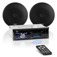 Picture of Boss Audio Systems 656BCK Single Din 2 Way Car Stereo Package, Black