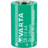 Picture of Varta CR 1/2 AA Series Lithium 3 V 950 mAh Cylindrical Battery