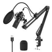 Picture of Fifine K780 Factory Professional Recording USB Microphone with Arm stand