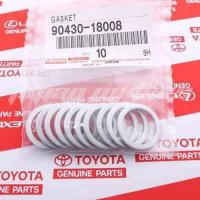 Picture of Genuine Toyota Drain Plug Gaskets for Transfer Case, 90430-18008