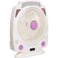 Picture of Sanford Rechargeable Table Fan, 14 inch, 13Pcs LED