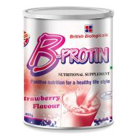 Picture of B-Protin Nutritional Supplement Strawberry Powder, 400g