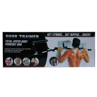 Picture of Heavy Duty Home Fitness Door Exercise Bar, Black