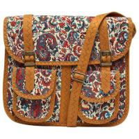 Picture of Natural Cork Ladies Casual Cross Body Messanger Bag, Brown