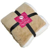 Picture of Comfy Sherpa Blanket With Pillow Case