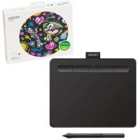Picture of Wacom Intuos S Bluetooth Creative Pen Tablet, CTL-4100WLK-N, Small, Black