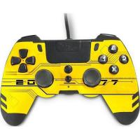 Picture of Steelplay Metaltech Wired Controller for PlayStation 4, Yellow Hack
