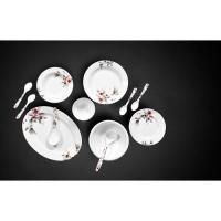Picture of Royalford 45 Pcs Melamine Ware Floral Dinner Set, RF6719