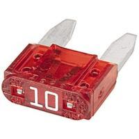 Picture of Hella Mini - Flat Fuse, 10A, Red, 8JS 728 596-141, Box Of 50 Pcs