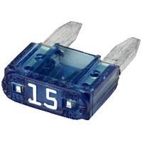 Picture of Hella Mini - Flat Fuse, 15A, Blue, 8JS 728 596-151, Box Fo 50 Pcs