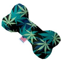 Picture of Mary Jane Blues Canvas Bone Dog Toy