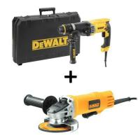 Picture of Dewalt D25144K 3 Mode Sds-Plus Hammer Drill and Angle Grinder, 900 W