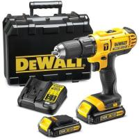 Picture of Dewalt Dcd776S2-B5 Li-Ion Cordless Compact Hammer Drill Driver, Yellow