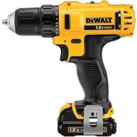 Picture of Dewalt Dcd710D2-B5 Subcompact Drill Driver, Yellow, 12 V