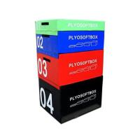 Picture of 1441 Fitness 4 In 1 Plyo Box For Cross-Fit Training