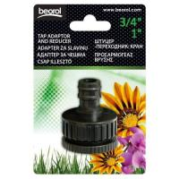 Picture of Beorol Garden Tap Adapter and Reducer, Black