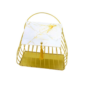 Picture of Gold Basket Best For Gift
