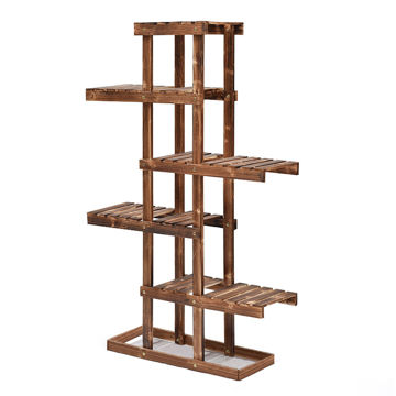Picture of Ling Wei 5 Tier Wooden Flower Rack