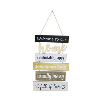 Picture of Ling Wei Starnearby Easter Wooden Wall Hanging Plaques