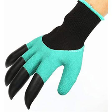 Picture of Garden Digging and Planting Gloves with Claws, 1 Pair
