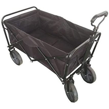 Picture of Folding Camping Multi-Function Shopping Cart R-2022, Black