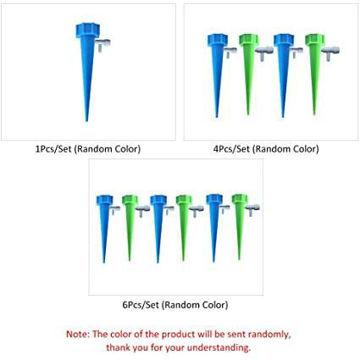 Picture of Lixada 1Pcs/4Pcs/6Pcs Automatic Plant Waterer Device Irrigation
