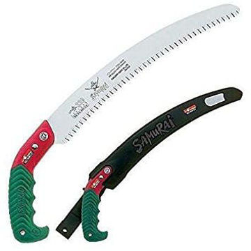 """Picture of Samurai Ichiban 13"""""""" Curved Pruning Saw with Scabbard C-330-LH"""