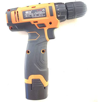 Picture of Hylan Cordless Screwdriver Drill with Tool Box, Orange