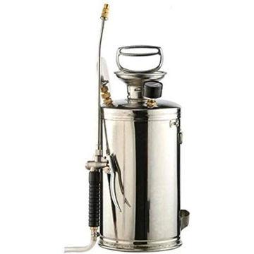 Picture of Hylan Stainless Steel Garden Watering Spray Bottle, 8L, Silver