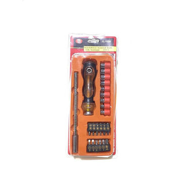 Picture of Hylan Screwdriver Kit with Flexible Shaft and Extension Rod, 25 pcs