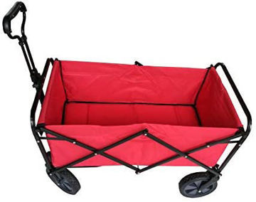 Picture of Folding Camping Multi-Function Shopping Cart R-2022 , Red