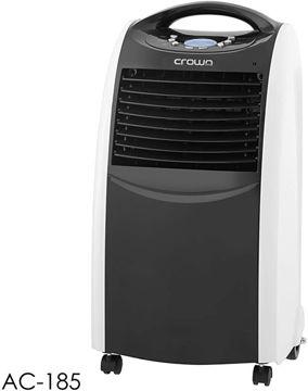 Picture of Crownline Floor Air Cooler, Black - 400M3/H - Ac-185, 1 Year Warranty