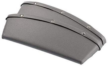 Picture of Car Seat Side Console Slit Caddy Storage Box, Grey