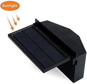 Picture of Solar Powered Car Cooler Window Fan Auto Ventilator