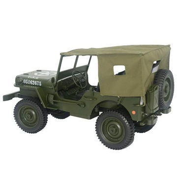 Picture of 2.4 GHz Remote Control Four Wheel Drive Climbing Jeep, Olive Green