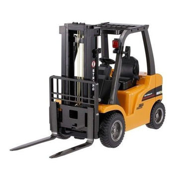 Picture of Huina 2 in 1 RC 8-Channel Forklift Truck Crane, Yellow & Black