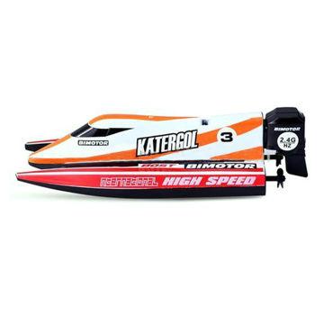 Picture of Mini 2.4 GHz Remote Control F1 Racing Boat, 3313M, Multi Colour