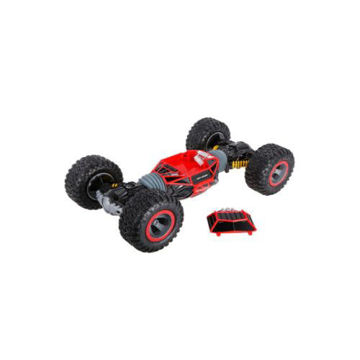 Picture of 2.4 GHz Double Side Rolling All Terrain Stunt Car, Red & Black