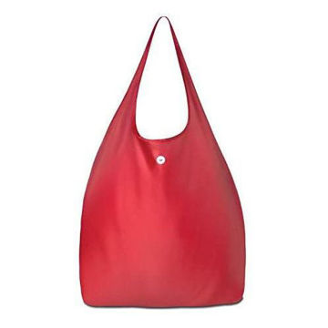 Picture of 2 Pieces Foldable Shopping Bag Polyester With Zippered & Plastic Hook