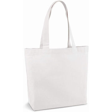 Picture of 2 Pieces White Colour 180G Cotton Tote Bag, Shopping Bag